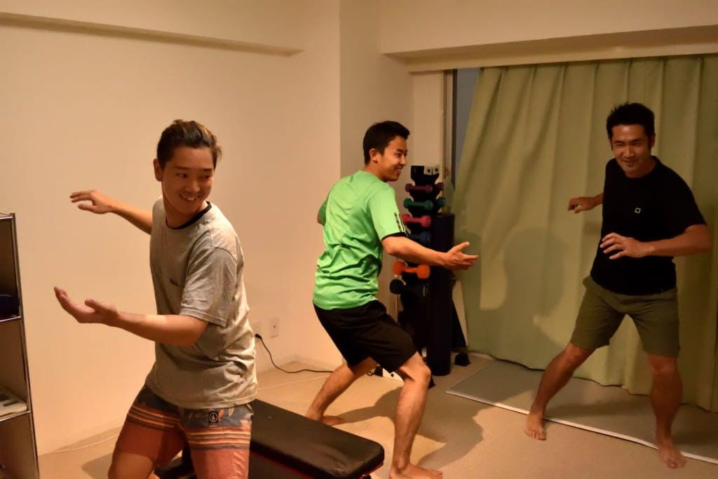 編集部員の表情にも自然と笑みが浮かぶ / photo by Shuhei Kaneko