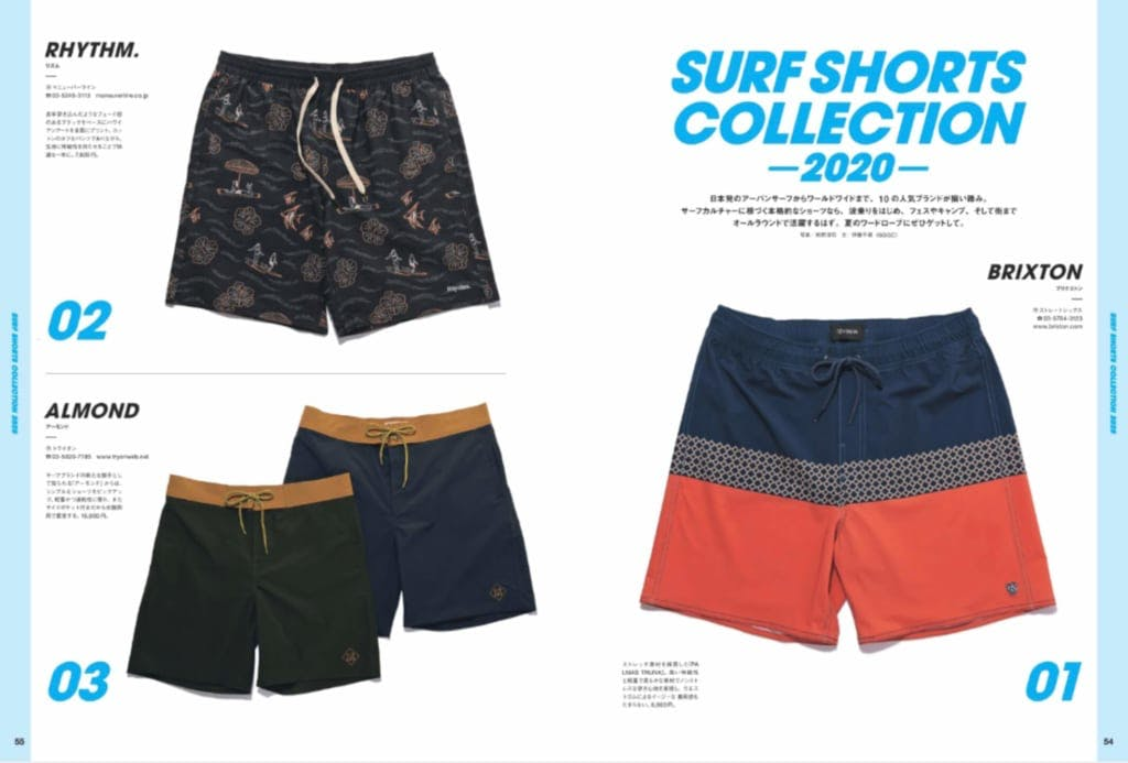 SURF SHORTS COLLECTION 2020